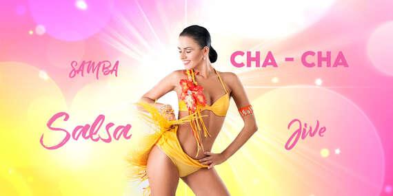 Summer Ladies Latino – letný tanečný rýchlokurz pre ženy v Tanečnej škole TOP CENTRUM/Bratislava – Staré Mesto, Petržalka