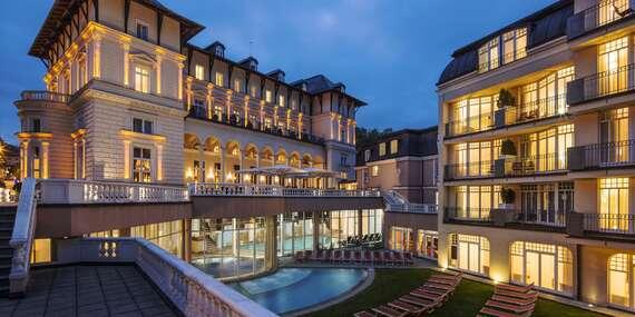 Luxusní pobyt ve Falkensteiner Hotel Grand Medspa Marienbad**** v Mariánkách s neomezeným vstupem do saunového světa a bazénů, polopenzí a koupelem/Mariánské Lázně