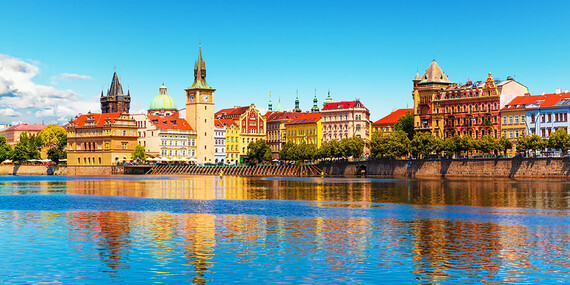 Stovežatá Praha s neobmedzeným vstupom do bazéna a raňajkami v hoteli Duo****/Česko - Praha 9 - Střížkov