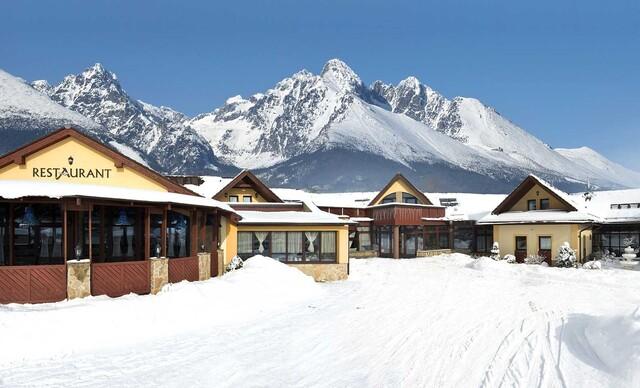 Nadýchnite sa tatranského vzduchu v obľúbenom hoteli Amalia***+ s polpenziou a wellness počas celého roka 2020, zastávka SKIbusu pri hoteli