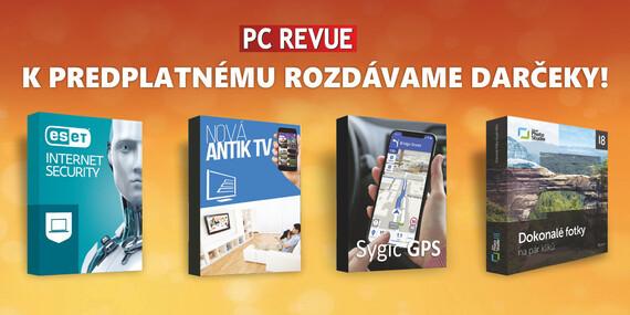 Ročné online predplatné magazínu PC Revue na rok 2020 + darčeky k predplatnému/Slovensko
