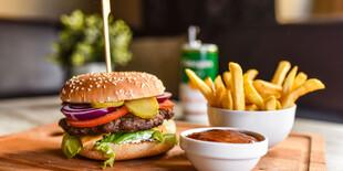 Dilema hovädzí burger