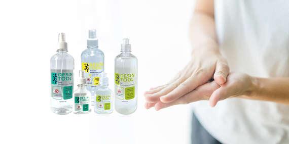 Gélová dezinfekcia na ruky, ktorá zničí 99,99 % baktérií, vyrobená na Slovensku/Slovensko