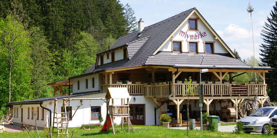 Penzión Mlynárka s tradičnou kuchyňou len 200 m od kúpeľného domu Afrodita/Rajecké Teplice