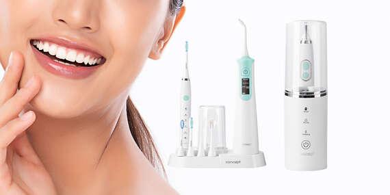 Sonická zubná kefka s UV sterilizátorom alebo Dentálne centrum/Slovensko