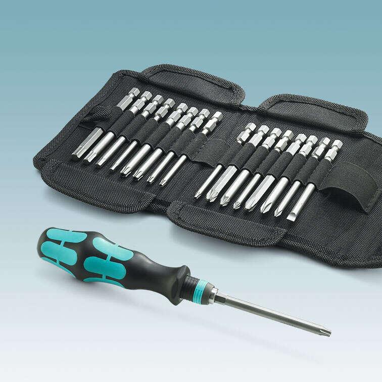 Sada skrutkovačov, elektrikárske nožnice alebo mobilná tlačiare