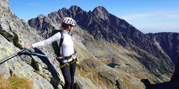 Prvá via ferrata vo Vysokých Tatrách cez Priečne sedlo (2 352 m) s certifikovaným horským sprievodcom/Vysoké Tatry