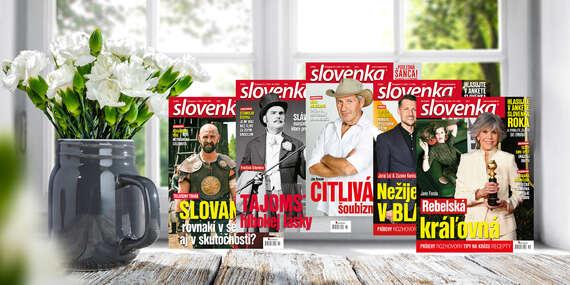 Ročné predplatné týždenníka Slovenka/Slovensko
