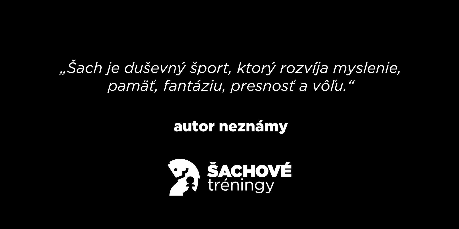 Šachové tréningy online pre každého – rozviňte svojich 10 hla...