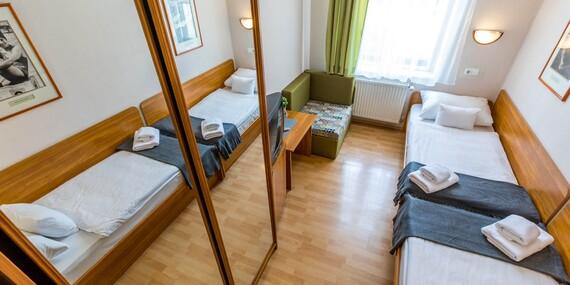 Hotel Császár*** v centre Budapešti, s celoročnými bazénmi a možnosťou vstupu do kúpeľov/Maďarsko - Budapešť
