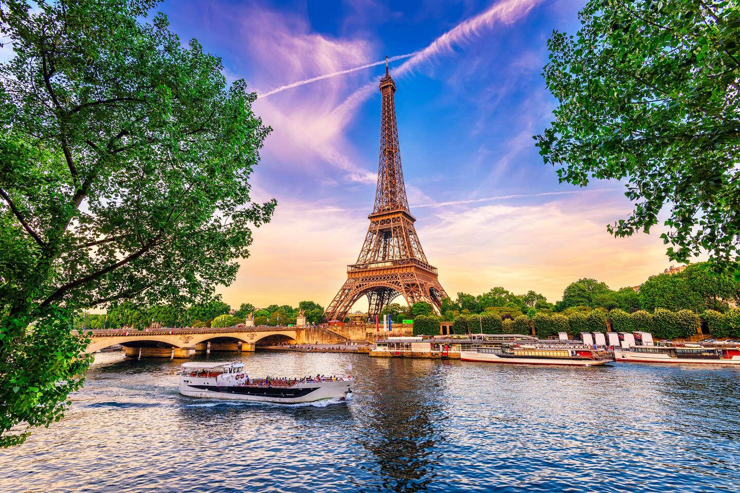Letecký zájazd do Paríža a Versailles na 4 alebo 5 dní s ubytova...