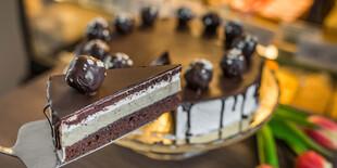 Bezlepková gaštanová torta s čokoládou 1200 g