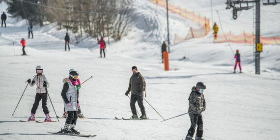 5-hodinový skipas na lyžovačku v ski centre Resortu Levočská Dolina/Levočská Dolina