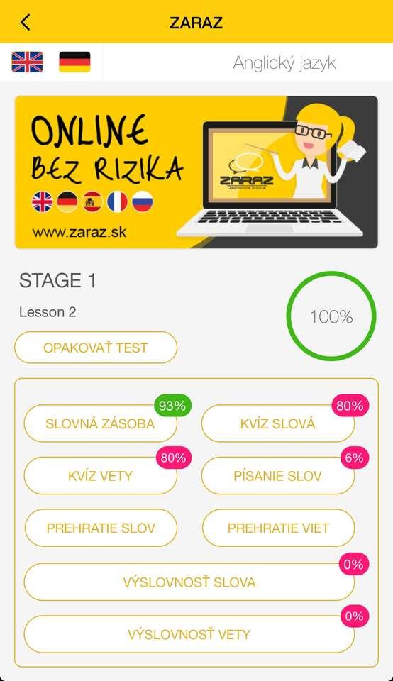 Zľava 70 % na online výučbu angličtiny alebo nemčiny cez apliká...
