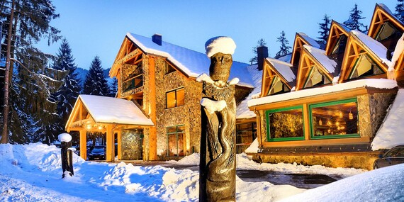 Špičkový adult friendly hotel Tri Studničky s výborným jedlom a neobmedzeným wellness / Demänovská dolina