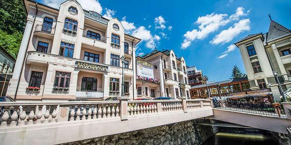 Pobyt podľa vášho želania v Trenčianskych Tepliciach v obľúbenom hoteli MOST SLÁVY*** / Trenčianske Teplice