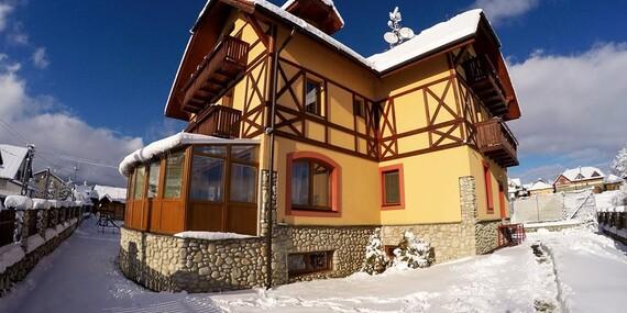 Tatry ako na dlani s wellness pobytom a polpenziou v obľúbenom penzióne BAĎO***/Stará Lesná - Vysoké Tatry