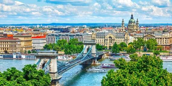 Hostel Budapest City s až 2 deťmi do 17 rokov zdarma - ideálny štartovací bod priamo v centre/Maďarsko - Budapešť