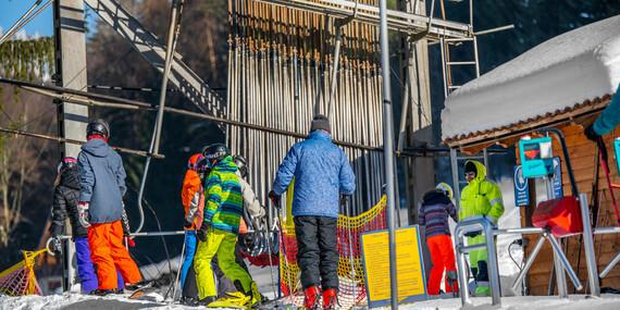 Celodenný skipas do strediska SKI Čertov so 7 traťami, z ktorých si vyberie každý/Lazy pod Makytou