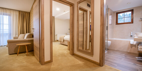 Luxus alebo romantika v GRAND HOTELI BELLEVUE**** s polpenziou a novým wellness - teraz ešte výhodnejšie/Vysoké Tatry - Horný Smokovec