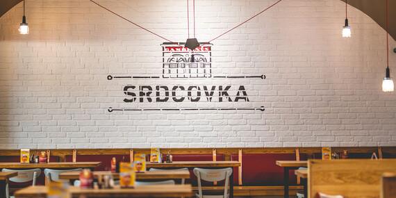 Darčeková poukážka na gastronomický zážitok v reštaurácii Srdcovka Reduta / Bratislava - Staré Mesto