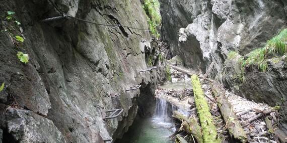 Jedinečná ferrata – Veľký Kyseľ v Slovenskom raji s certifikovaným horským sprievodcom/Slovenský raj