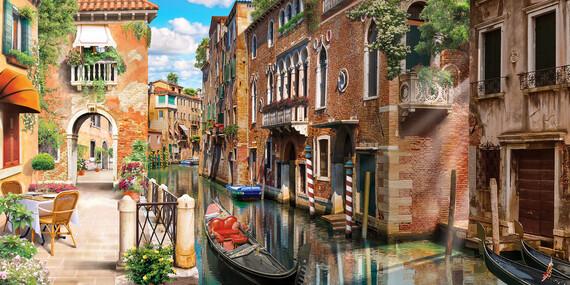 4denní zájezd do italských skvostů Verony a Benátek i přilehlých ostrovů s ubytováním v 3* hotelu s kontinentální snídaní/Itálie - Benátky
