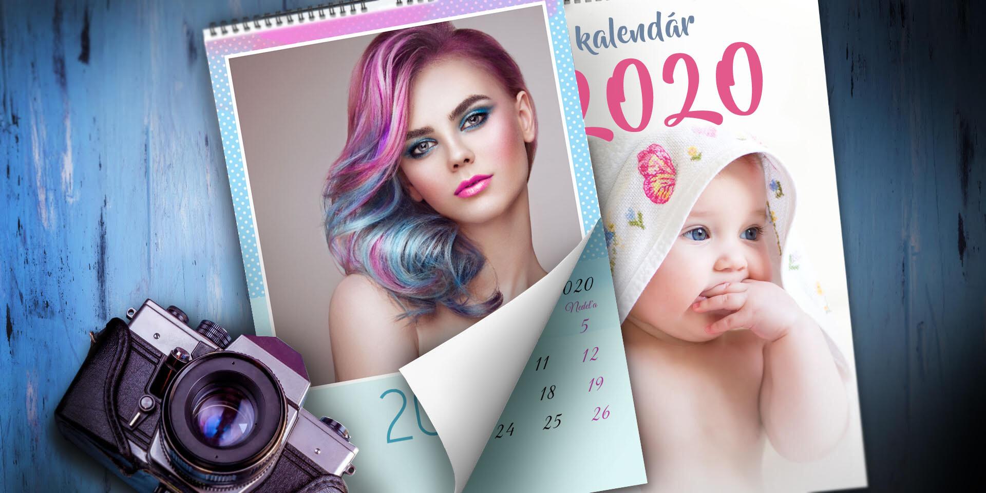 Nástenný fotokalendár s jednoduchou online editáciou fotografií, ktorú zvládne úplne každý