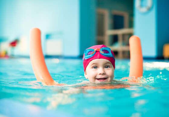 Kurzy plávania pre nových členov v detskom plaveckom centre KORYTNAČKA