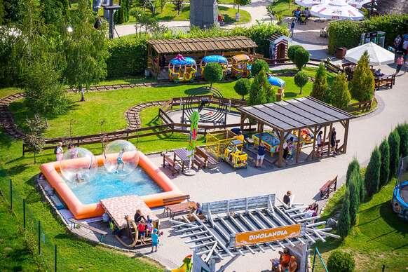 SUPER PONUKA: Luxusný ParkHotel Łysoń&SPA**** s výbornou stravou a wellness.