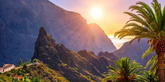 Dovolenka na Kanárskych ostrovoch – Tenerife s výhľadom na oceán/Španielsko - Tenerife