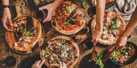 Pizza alebo pizza rožky – take away či dovoz v rámci Košíc / Košice