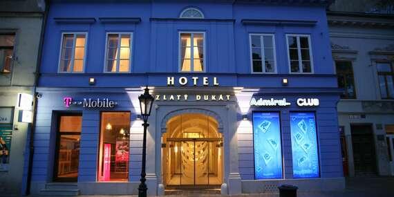 Zlatý Dukát****: Historický hotel v centre Košíc, ktorý bol súčasťou kráľovského domu/Košice - Staré Mesto