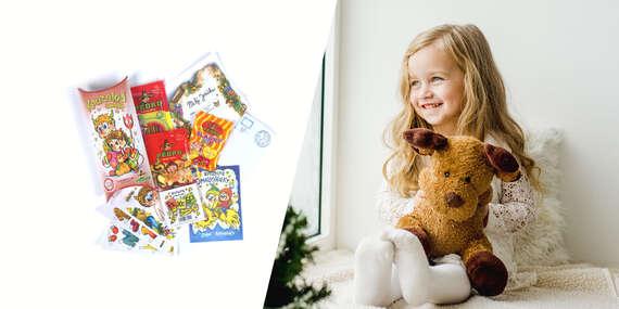 Špeciálny mikulášsky balíček pre deti so sladkosťami, hrami a omaľovánkami/Slovensko