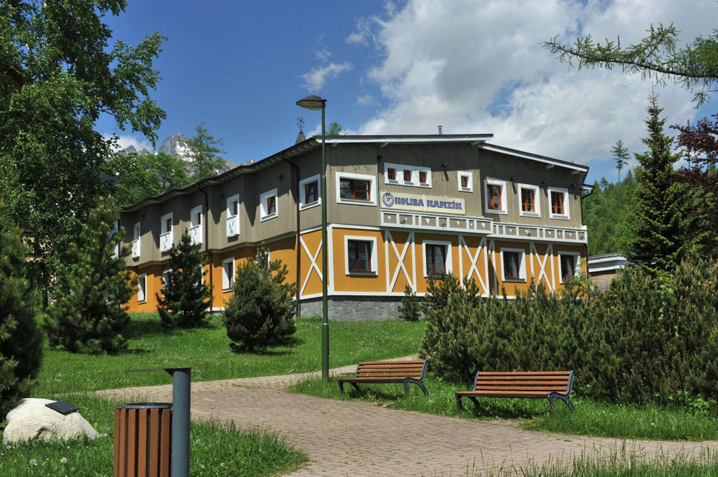 Dovolenka pod Tatrami v Kolibe Kamzík