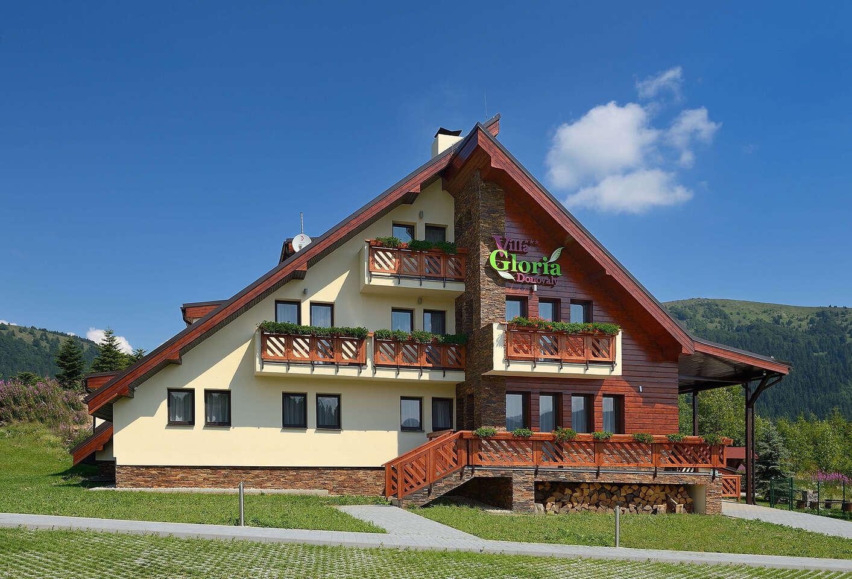 Obľúbená štýlová Villa Gloria*** na Donovaloch so vstupom do wellness