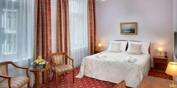Luxusný pobyt už od 1 noci v Boutique Hoteli Seven Days**** v centre Prahy/Česko - Praha