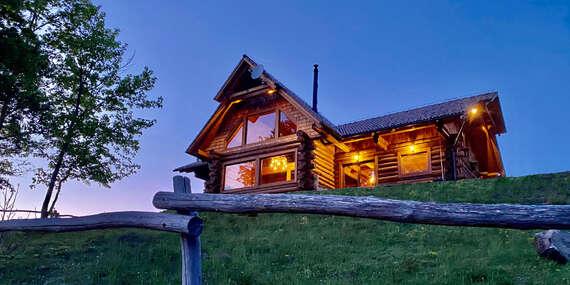 Luxusný Alaska zrub pre 12 osôb uprostred Štiavnických vrchov, dokonalé spojenie s prírodou, ideálne miesto pre rodiny/Počúvadlianske jazero - Banská Štiavnica