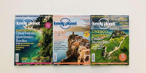 Magazín pre nadšencov cestovania - 6 vydaní časopisu Lonely Planet/Slovensko