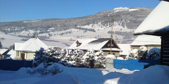 Zima v chate s wellnessom pod Kráľovou hoľou pre 8 ľudí / Telgárt