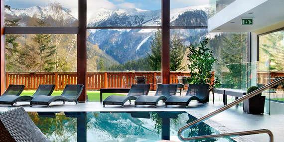 Relax v hoteli Rozsutec*** s TOP wellness centrom v krásnom prostredí Malej Fatry/Terchová - Vrátna dolina