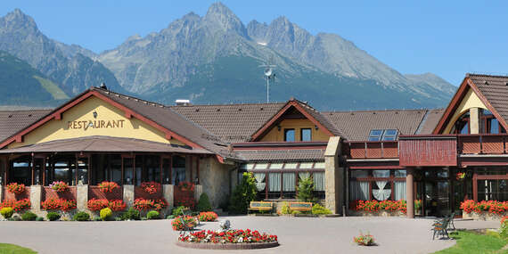 Nadýchnite sa tatranského vzduchu v obľúbenom hoteli Amalia***+ s polpenziou a wellness/Vysoké Tatry - Nová Lesná