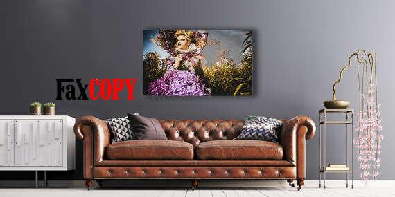 Prémiový obraz na kvalitnom plátne v krásnych farbách z vlastnej fotografie so skrytým rámom s osobným odberom až v 39 predajniach FaxCOPY zdarma/Slovensko