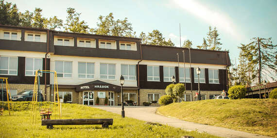 Bezpečná dovolenka v horskom hoteli Hrádok***, teraz s plnou penziou/Jelšava - Ochtiná