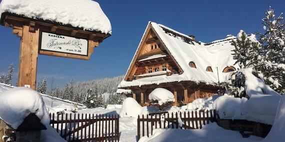 Nadštandardné izby vo vynikajúcom penzióne Tatrzanski Bór blízko 3 aquaparkov a ski centier / Polsko - Murzasichle