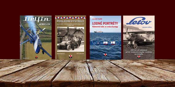 4 knižné tituly s československou tématikou/Slovensko