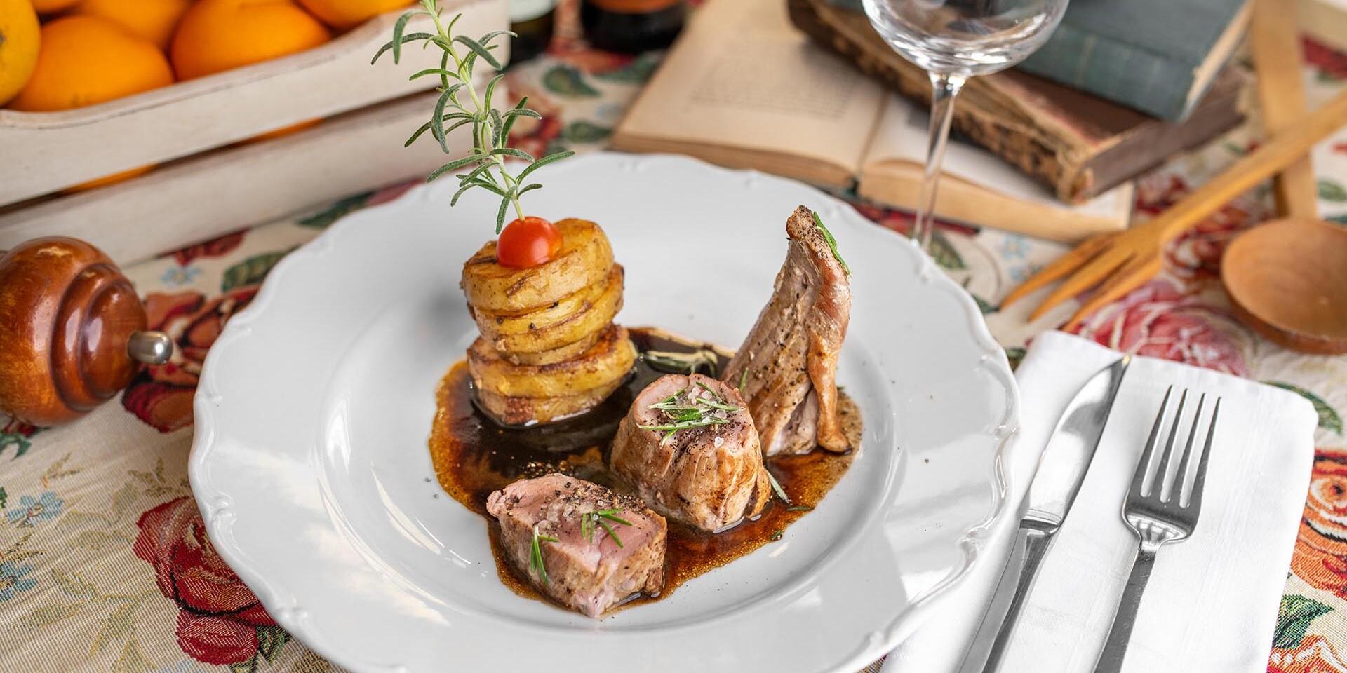 Talianske 3- alebo 5-chodové menu pre dvoch v reštaurácii Maximilián
