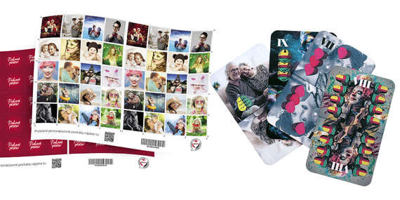 Rodinná zábava pri hraní kariet alebo pexesa s vlastnými fotografiami/Slovensko