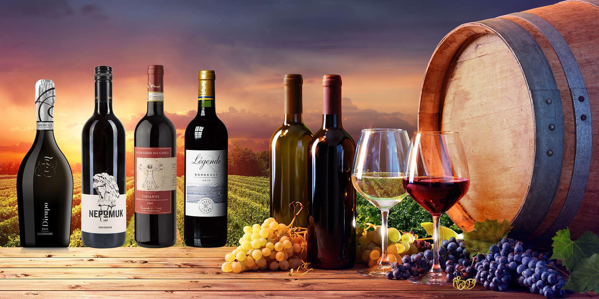 Exkluzívne vína s doručením v rámci Bratislavy do 8 hodín zdarma