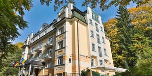 Villa Savoy ponúka príjemné ubytovanie s veľmi výhodnou polohou na okraji lesoparku